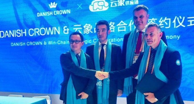 Danish Crown Establishes Major Partnership With Alibaba's Win-Chain