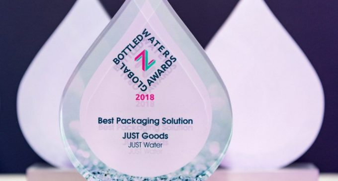 JUST Water Wins Global 'Best Packaging Solution' Award With Tetra Pak Carton Bottle