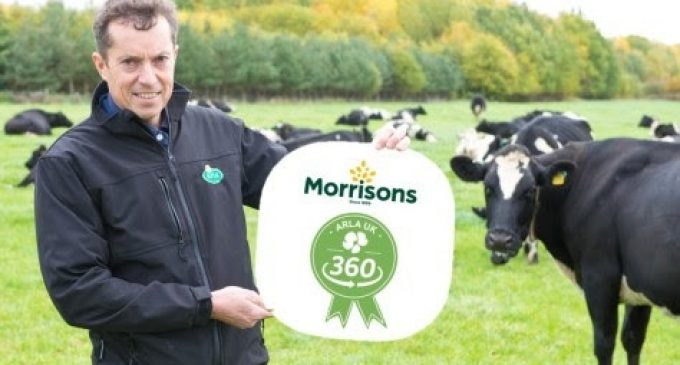 Morrisons Signs Up to Arla UK 360 Farm Standards Programme