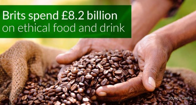 UK Ethical Food and Drinks Sales Hit £8.2 Billion