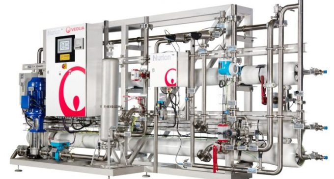 Veolia Launches NURION™ – An Ingredient Water Compliant RO System