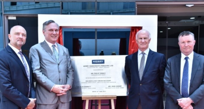 Kerry Group Inaugurates New €20 Million Production Facility in India