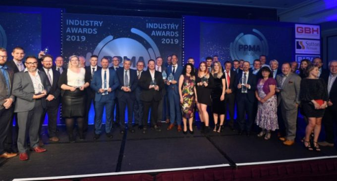 The Biggest Celebration of Achievement and Business Excellence at the PPMA Group Industry Awards 2019