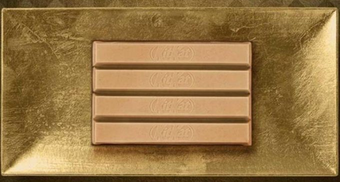 Nestlé Launches New KitKat Gold in the UK