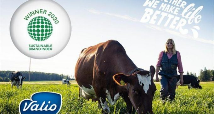 Valio is Finland's Most Sustainable Brand For 7th Time