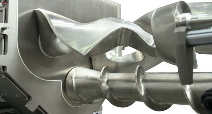 Winkworth Claims Hygienic Mixer/extruder Design is a World's First
