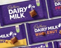 Cadbury reveals first image overhaul in 50 years