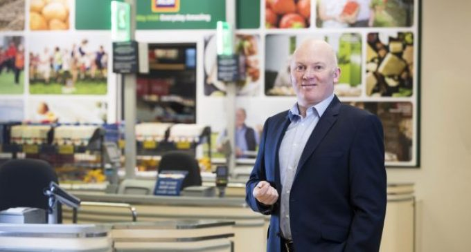 Niall O'Connor named new Group Managing Director for Aldi Ireland