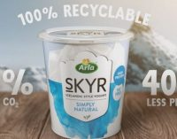 Arla Foods Introduces Sustainable Packaging For Skyr to Reduce Plastic by 40%