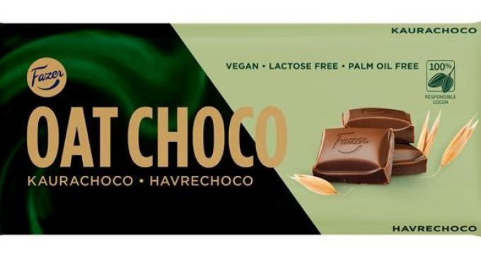 Fazer Group Introduces Plant-based Oat Choco and Milk Chocolate With No Added Sugar
