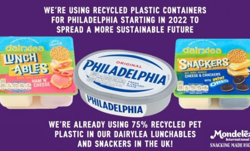 Mondelēz International Announces Significant Packaging Innovation With Philadelphia Tubs and Lids Set to be Made With Recycled Plastic
