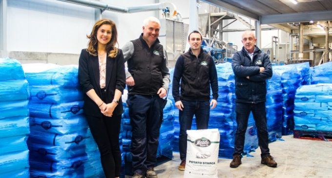Meade Potato Company Enters Potato Starch Market With Innovative Extraction Plant in Ireland
