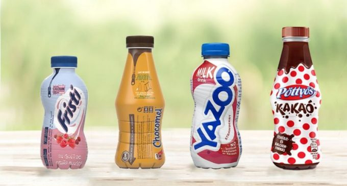 FrieslandCampina Switches to 100% Recycled PET Bottles