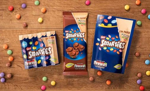 Smarties Becomes First Global Confectionery Brand to Switch to Recyclable Paper Packaging